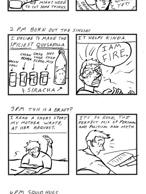 Hourly Wednesday Bio Comics: March 2013